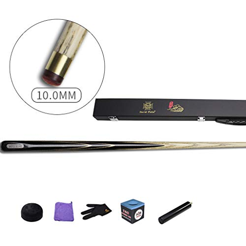 WXS Billard Queue, Asche/Ebony Handgefertigt Pool Queues durch Körper Billardstange 57 Zoll Snooker Cue (Farbe : #2)