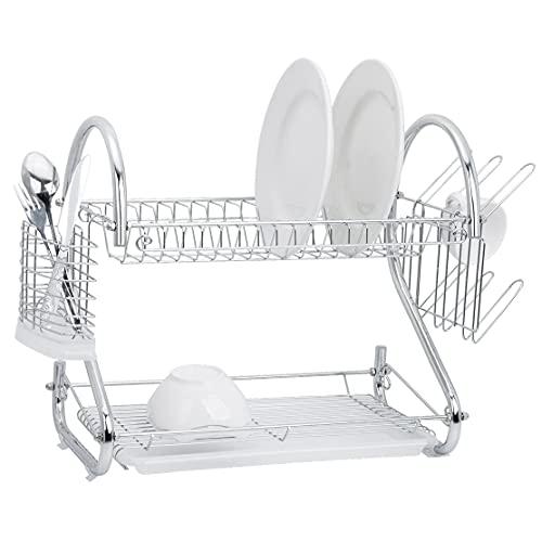 Jocca - Escurreplatos para platos y vasos de cocina | Escurre Vajilla | Organizador Cocina | 44*24*39 cm