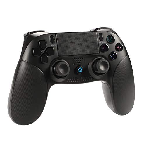 Wireless controller for PS4 Controller, Shumeifang mit Dual-Vibration- Touch-Panel + Rutschhemmung + integrierte Farb-LED + Kopfhörer-Jacke Wireless Gamepad ist gut für PS4 / PS3