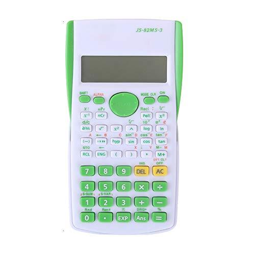 XBAO wetenschappelijke rekenmachine/240 rekenkundige functies/LCD-beeld/glijdende beschermkap/plastic sleutels/functie calculator examen beschikbaar/wetenschappelijke rekenmachine bundel.