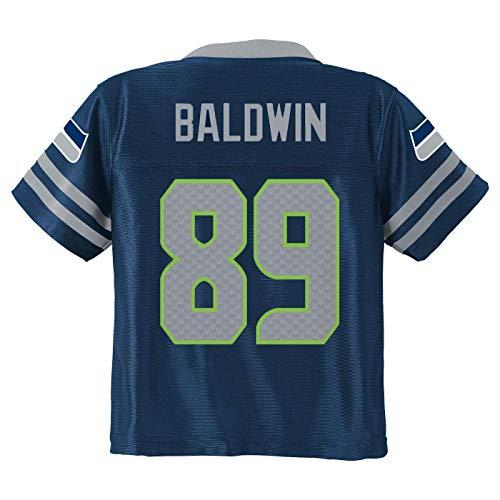 Doug Baldwin Seattle Seahawks #89 Navy Blue Boys Home Player Jersey (X-Large 16/18)