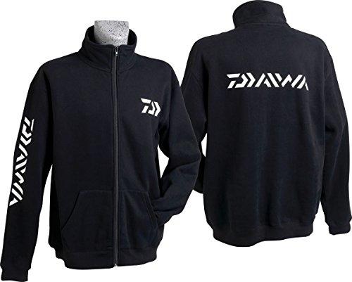 SWEAT SHIRT ZIPPE DAIWA NOIR XL