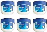 Vaseline Original Pure Petroleum Jelly 100ml - Paquete de 6