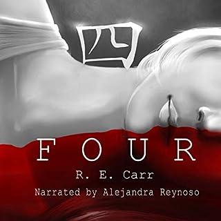 Four audiobook cover art