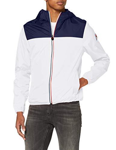 invicta Giubbino Packable Smith Cappotto, Bianco (Bianco/Blu Scuro 1200), X-Large (Taglia Unica: XL) Uomo