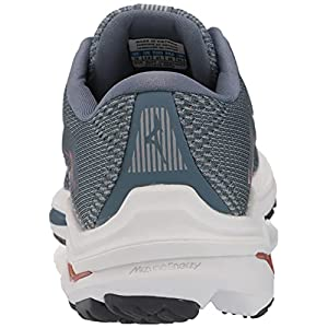 Mizuno Women's Wave Inspire 17 Running Shoe, Blue-Quarry, 9.5