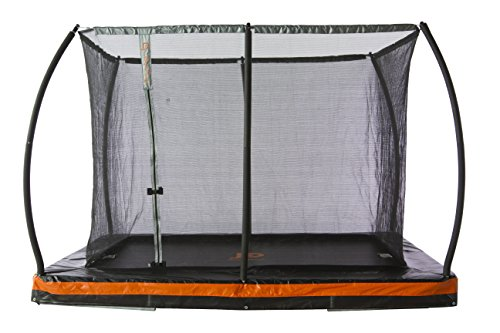 JumpPower 10ft. x 7.5ft. In-ground Rectangular Trampoline...