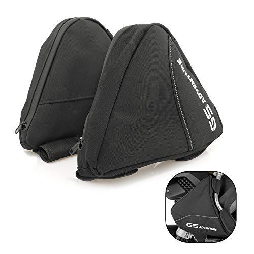 BarBaren Motorrad Schutzbügeltasche Wasserabweisende Taschen Tankschutzbügel Taschen für B-MW R 1200 GS LC Adventure ab 2014