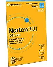 Norton 360 Deluxe 2021, antivirussoftware, internetbeveiliging, 3 Apparaten, 1 Jaar, Secure VPN en Password Manager, PCs, Macs, tablets en smartphones, envelop, past in de brievenbus