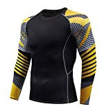 アンダーシャツ 長袖 スポーツ アンダーウェア スポーツシャツ メンズ コンプレッションウェア トレーニングウエア アクティブ ランニングウエア Tシャツ パワーストレッチ フィットネス 加圧 吸汗 速乾 快適 コンプレッショントップス インナー UVカット