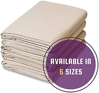 All Purpose Canvas Cotton Drop Cloth Set (4' x 12')