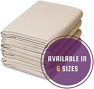 CCS CHICAGO CANVAS & SUPPLY - 8 Piece Set - 12 Ounce Canvas Drop Cloth Set (5' x 5')