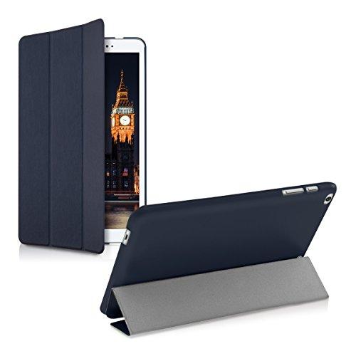 kwmobile Huawei MediaPad T1 10 Hülle - Smart Cover Tablet Case Schutzhülle für Huawei MediaPad T1 10 - Dunkelblau - 5