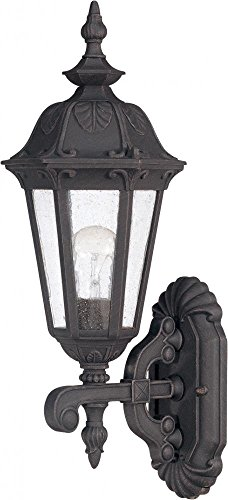 NUVO 60/2035 One Light Lantern Outdoor Wall Mount, Unknown