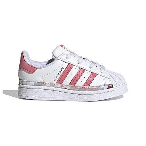adidas Superstar EL I, Deportivas, FTWR White Hazy Rose Hazy-Zapatillas, 24 EU
