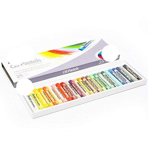 25/36/50 colores de ceras redondas para niños, juego de lápices de colores...