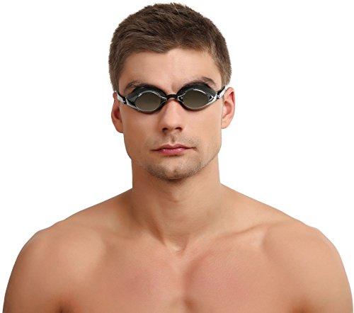 Speedo Unisex Schwimmbrille Speedsocket Mirror, black/silver, one size, 8-705893515