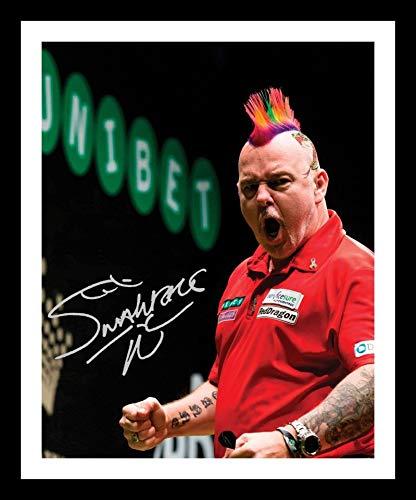 DS Peter Wright Autogramme Signiert Und Gerahmt Foto