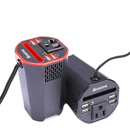 Fantastic Prices! Comprajunta 150W Car Power Inverter DC12V to AC 110V/220V Converter Outlet,Adapter...