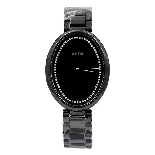 Rado Esenza Black Diamond Dial Ceramic Quartz Ladies Watch R53093722