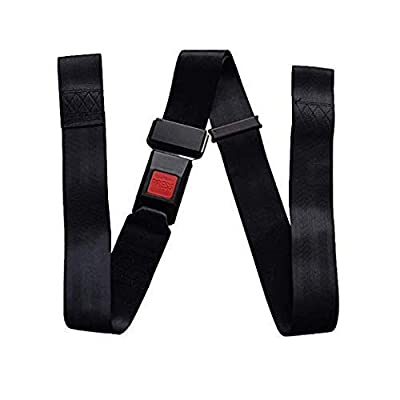 HANSHI Wheelchair Seat Belt, Wheelchair Safety Safety Lap Strap, Quick Release Wheelchair Belt Straps for Disabled Elders HBZ09-C