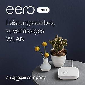 Amazon eero Pro WLAN-Mesh-System – 3er-Set