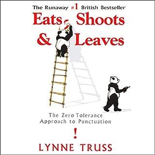 Eats, Shoots & Leaves audiobook cover art