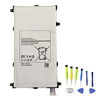 SUNNEAR T4800E T4800U Tablet Battery Replacement for Samsung Galaxy Tab Pro 8.4 SM-T320 WiFi  SM-T321 3G & WiFi  SM-T325 3G 4G/LTE & WiFi  Series Tablet T4800K T4800C with Tools