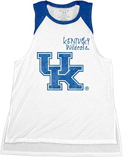 NCAA Kentucky Wildcats Confetti Muscle Tank Top, Royal, X-Large