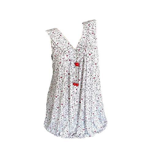 Momoxi Tank Damen Top Sommer Top Tunika Bequeme Shirts Damen Abendkleider Damen Schuhe Damenbekleidung Herrenbekleidung Fussball Bekleidung Weiß XL