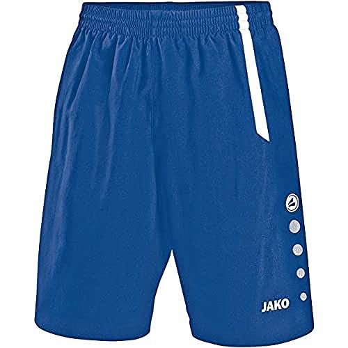 JAKO Turin Shorts de randonnée Homme, Royal Sport/Blanc, L