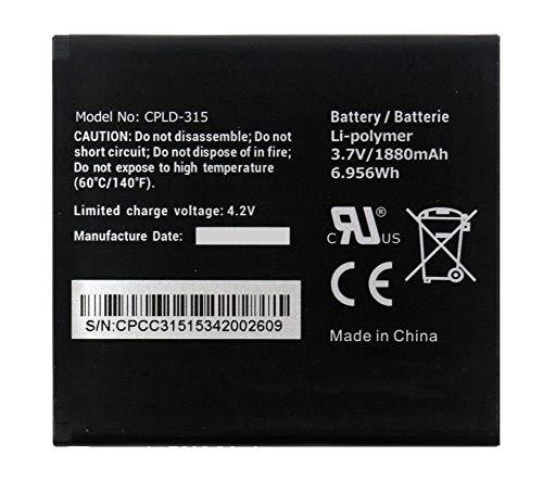 Bateria Compatible con Vodafone Smart 4 Turbo/Coolpad | CPLD-315 / Capacidad 1880mAh