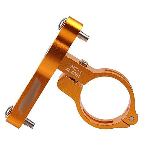 hclshops Bottiglia da Ciclismo all'aperto Bottiglia da Ciclismo Bullone Bolt Cage Adattatore MTB Road Bike Bicycle Supporto per Bicicletta Transition Socket Manubrio Mount Hot (Color : Gold)
