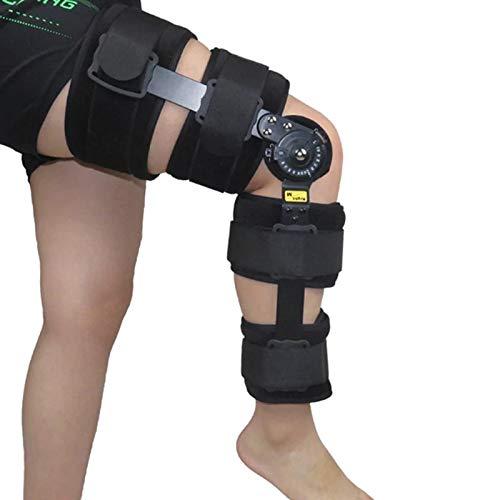WANGXNCase Órtesis De Rodilla Rodillera Envuelta Después De Una Cirugía De Esguince, Extensión De La Rodillera, Soporte Articular Articulado, Adecuado para Artritis/LCA/Desgarro De Menisco