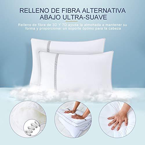 BedStory Pack de 2 almohadas antiácaros - 2