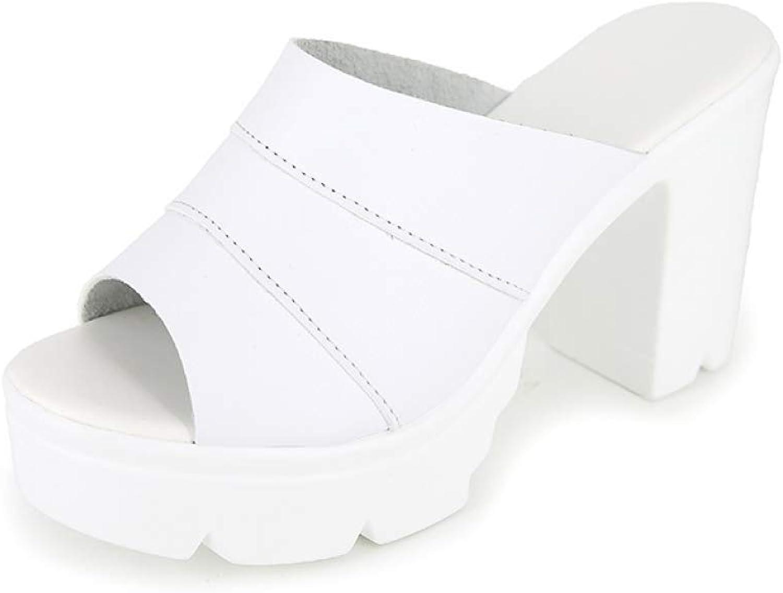 T-JULY Elegant Summer Sandals Woman Slip-on Platform Pumps Mules Women shoes High Heels Ladies Casual shoes