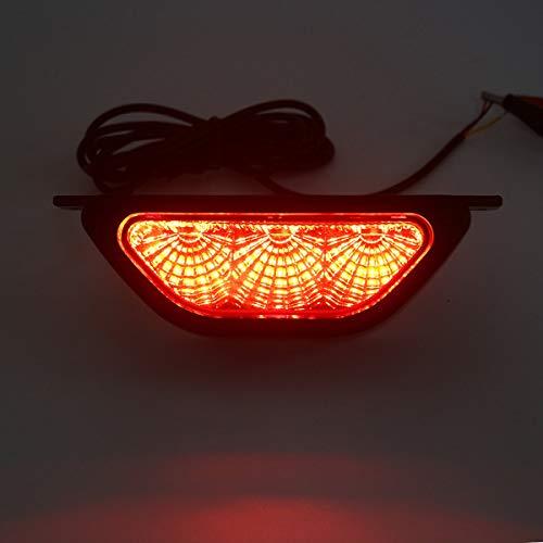 DIRIGIÓ Bombillas de faros DIRIGIÓ Luz de parada trasera de la parte trasera, luz de niebla de respaldo inversa de freno, lámpara de flash estroboscópica para automóvil universal Para faros de coche