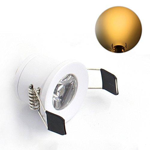 Lediary Mini LED de Luz descendente empotrable para el interior del armario,cuatro...