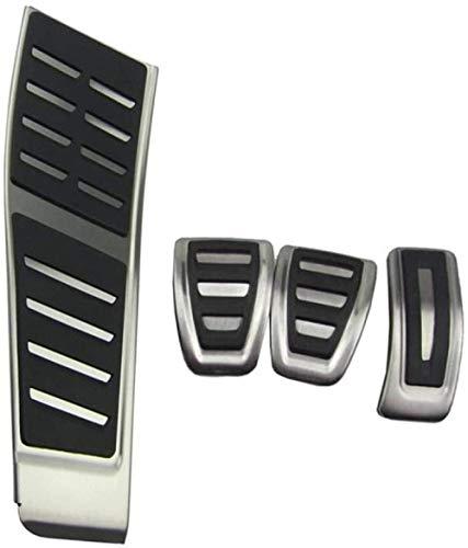 HZHAOWEIPedal de Freno de Acero Inoxidable para Coche. para Audi A4 S4 B8 8K / A5 S5 8T / Q5-MT