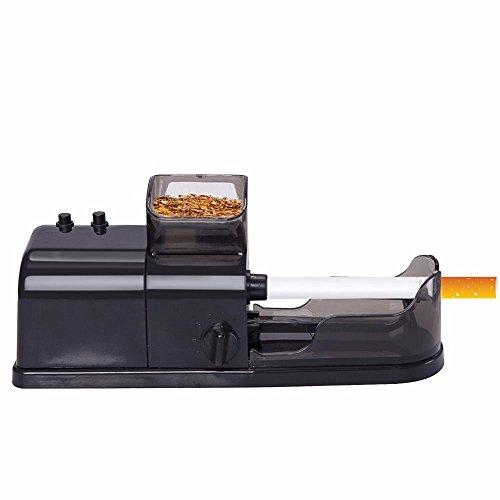 Les yeu Electric Cigarette Injector Machine Cigarette Rolling Machine Electric Automatic Injector Maker Tobacco Roller Black