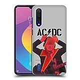 Head Case Designs Officiel AC/DC ACDC Foudre Power Up Coque Dure pour l'arrière Compatible avec...