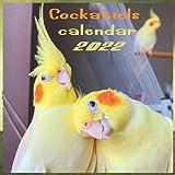 Cockatiels calendar 2022: Calendar 2022 - Bird Calendar finish glossy