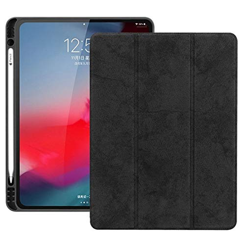 Horizontal Flip Magnetic PU Leather Case for iPad Pro 11 inch (2018), with Three-folding Holder & Sleep/Wake-up Function Accessory Same Parts From Original Factory (Size : Ipro0064b)