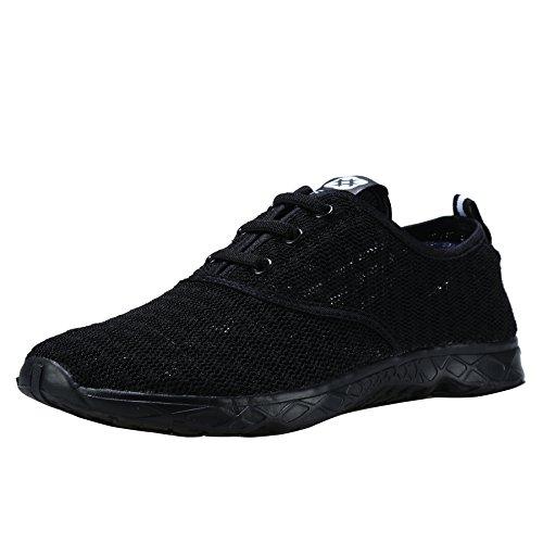Dreamcity Men's water shoes athletic sport Lightweight walking shoes Black 11 D M US
