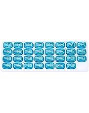 zhibeisai Maandelijkse Organisator van de pil 31 Dag Dagelijks Vitaminen Reizen Storage Case grote capaciteit verwisselbare pillendoosje