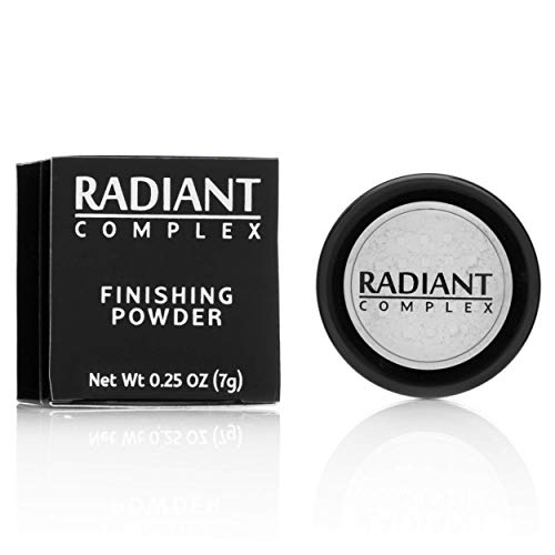 Finishing Powder by Radiant Complex, Translucent Loose Powder, Best for Under Eye Setting and Baking Makeup