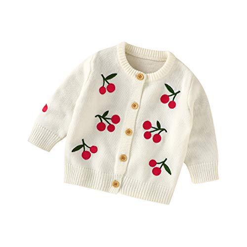 North edge Baby Cardigan Hooded Sweater Newborn Infant Girl Boy Warm Coat Knit Outwear Light Weight Jacket