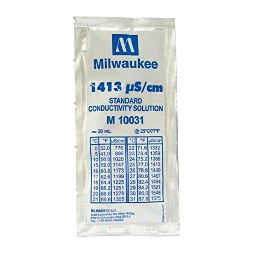MULTIHOBBIE® LIQUIDO CALIBRADOR EC 1413 ELECTRO CONDUCTIVIDAD MILWAUKEE CALIBRADOR EC 20ML