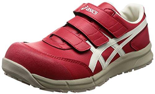 [アシックス] ワーキング 安全靴/作業靴 ウィンジョブ CP301 JSAA A種先芯 耐滑ソール αGEL搭載 プライムレッド/ホワイト 26.5