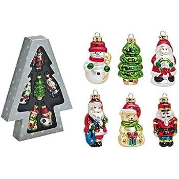3 Weihnachtsfiguren Bär Kunststoff Figuren Christbaumschmuck Weihnachten braun